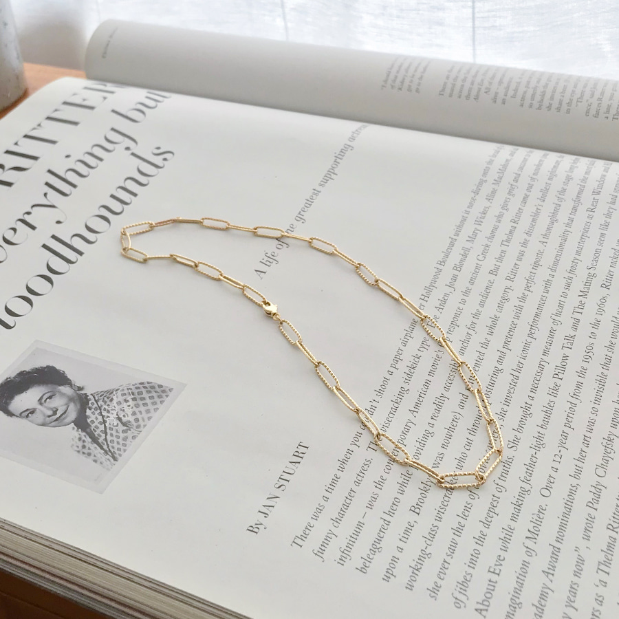HERITAGE CHAIN NECKLACE