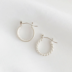 HOLDER HOOP EARRING