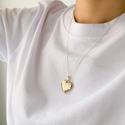 GENTLE HEART NECKLACEGOLD