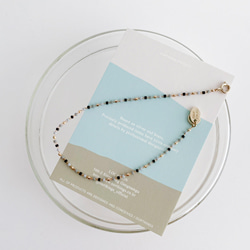 SILK GLASS ANKLET
